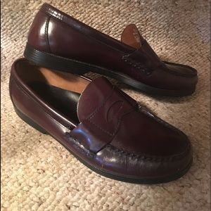 Sperry Top-Sider Brown Leather Penny Loafers